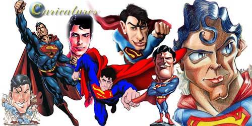 סופרמן קריקטורה