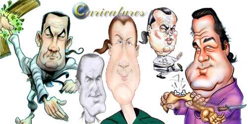 סטיבן סיגל קריקטורה
